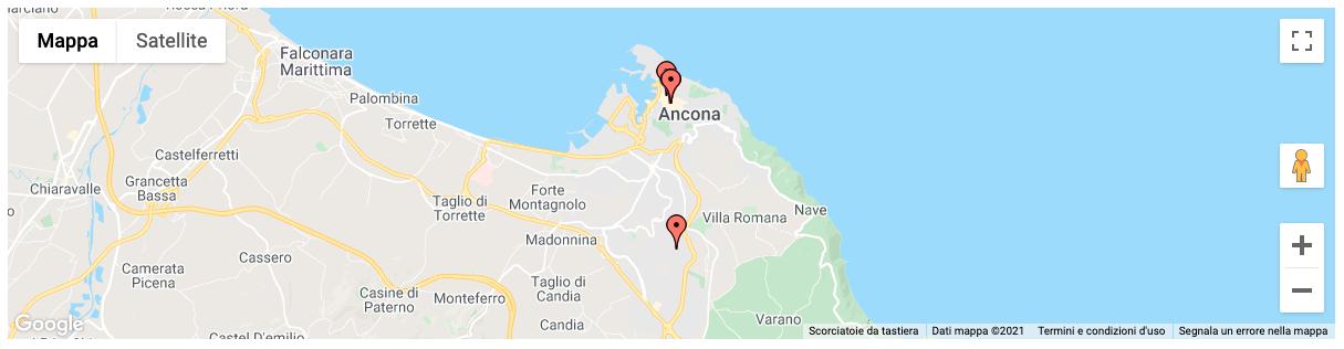 Mappa statica di Ancona