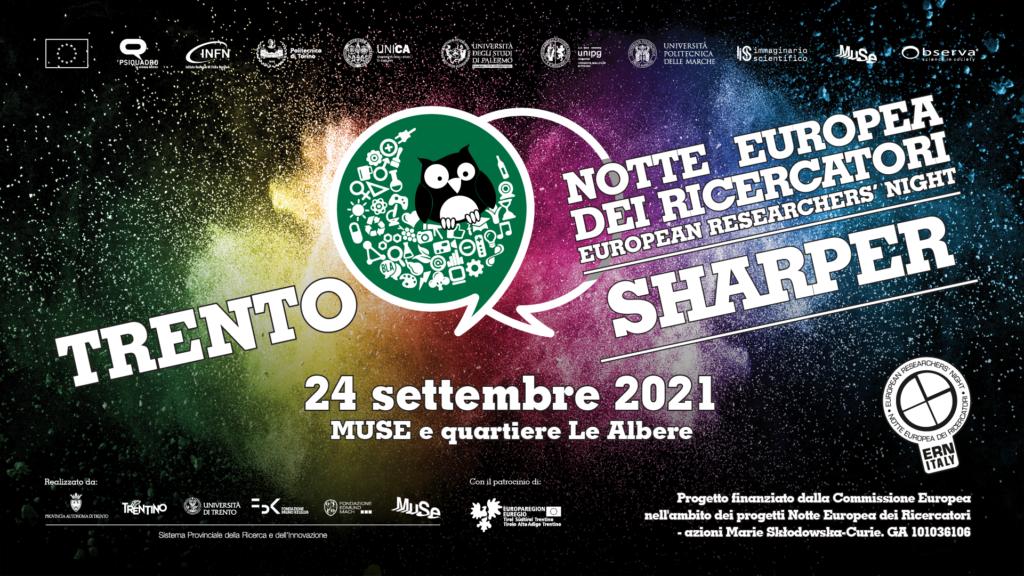 Sharper – Notte Europea dei Ricercatori in arrivo a Trento