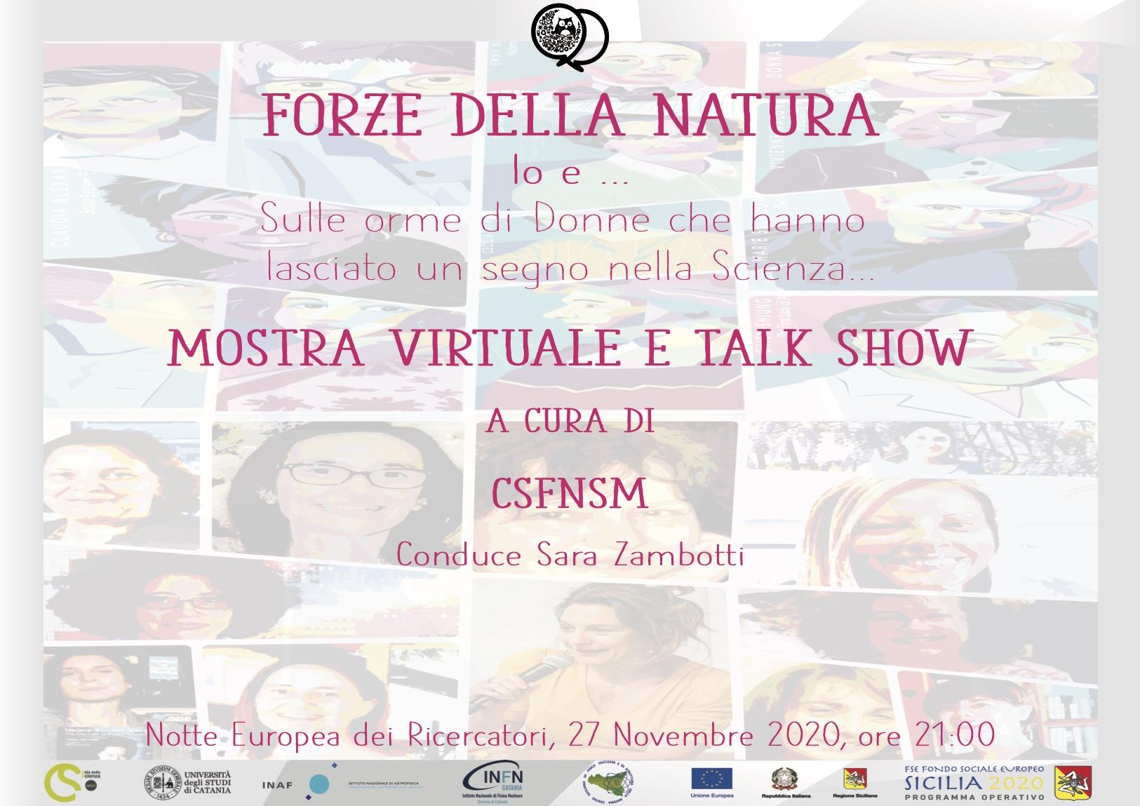 Regione Siciliana, Città della Scienza, CSFNSM, Università di Catania