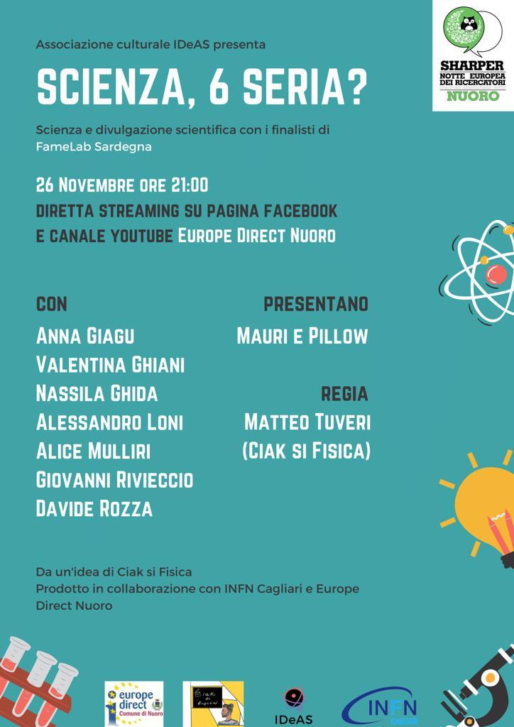 IDeAS - Associazione Culturale, INFN - Sezione di Cagliari