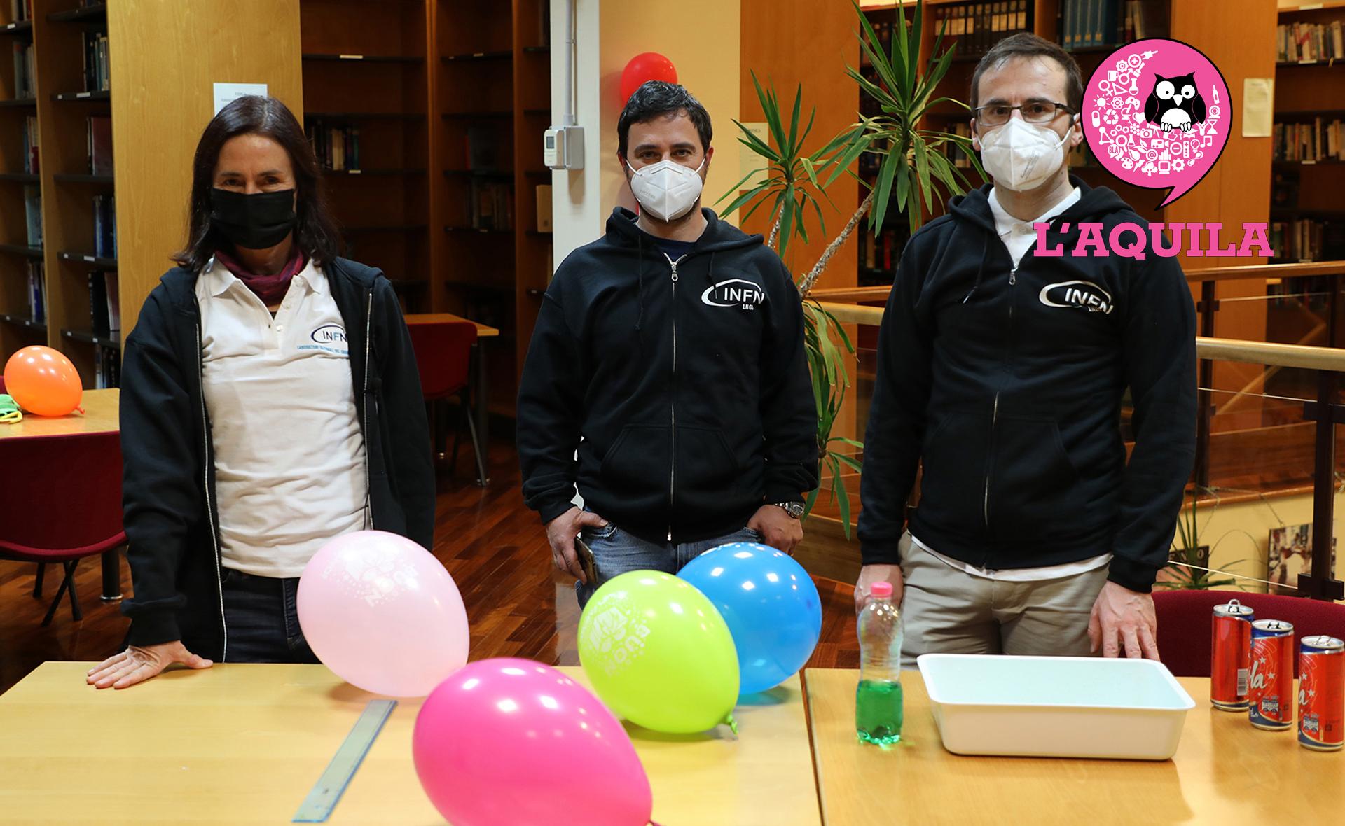 INFN Roma Tor Vergata, INFN - Laboratori Nazionali del Gran Sasso